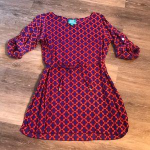 Clemson mini shirt dress!  escapada Size Small